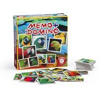 Piatnik Memo+Domino Papagájok, társasjáték