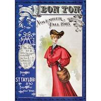 Piatnik Bon Ton Magazin címlap 1903, puzzle