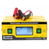 Powermat, mikoprocesszoros akkumulátor töltő, 6v-24v