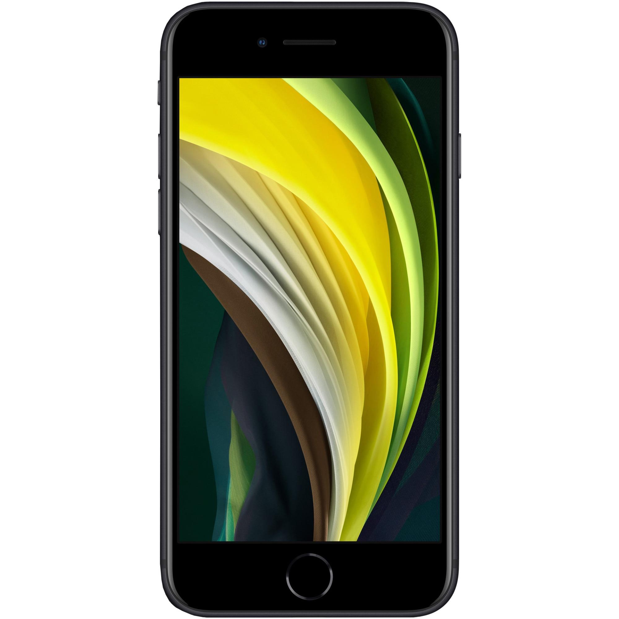 Fotografie Telefon mobil Apple iPhone SE 2, 64GB, 4G, Black