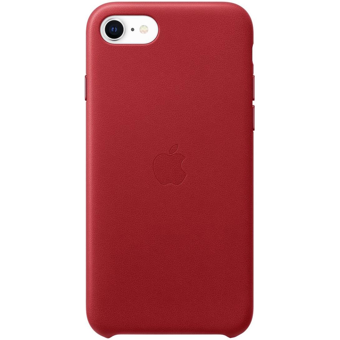 Fotografie Husa de protectie Apple pentru iPhone SE 2, Silicon, Red
