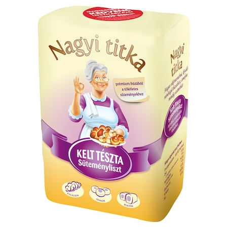Nagyi titka Kelt tészta süteményliszt, 1 kg