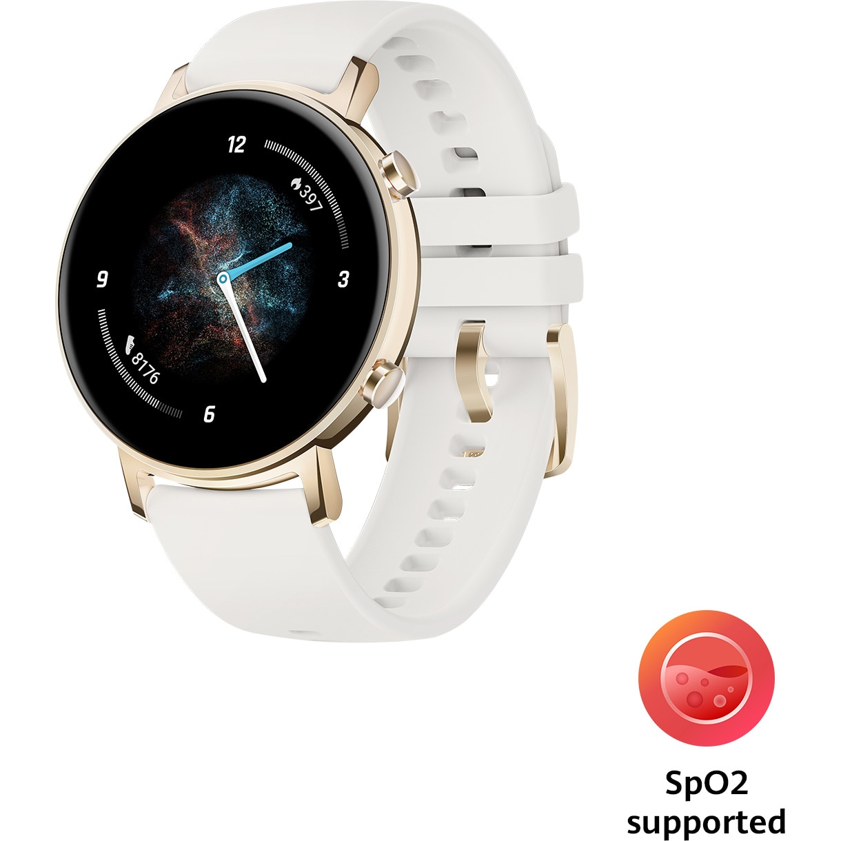 Fotografie Ceas smartwatch Huawei Watch GT 2, 42mm, Champagne Gold