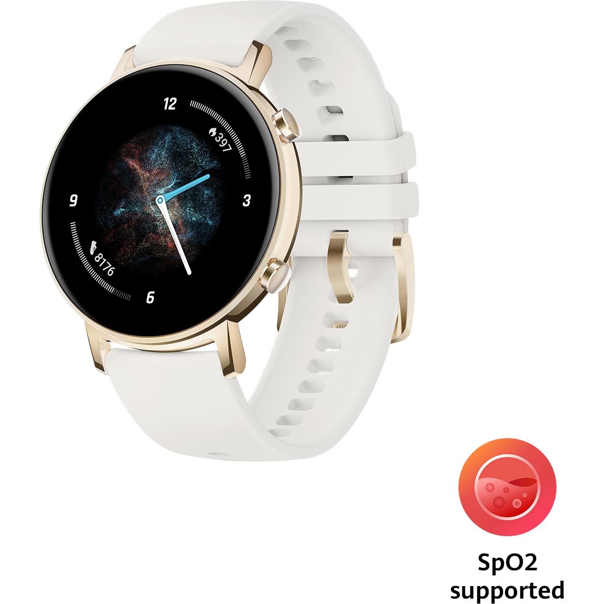 Fotografie Ceas smartwatch Huawei Watch GT 2, 42mm, Champagne Gold