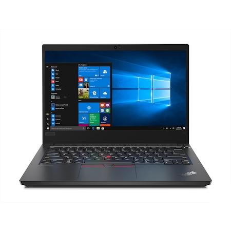 Лаптоп Lenovo ThinkPad E14 с Intel Core i5-10210U (1.60/4.20 GHz, 6M), 8 GB, 256GB M.2 NVMe SSD, Intel UHD Graphics, Windows 10 Pro 64-bit, черен