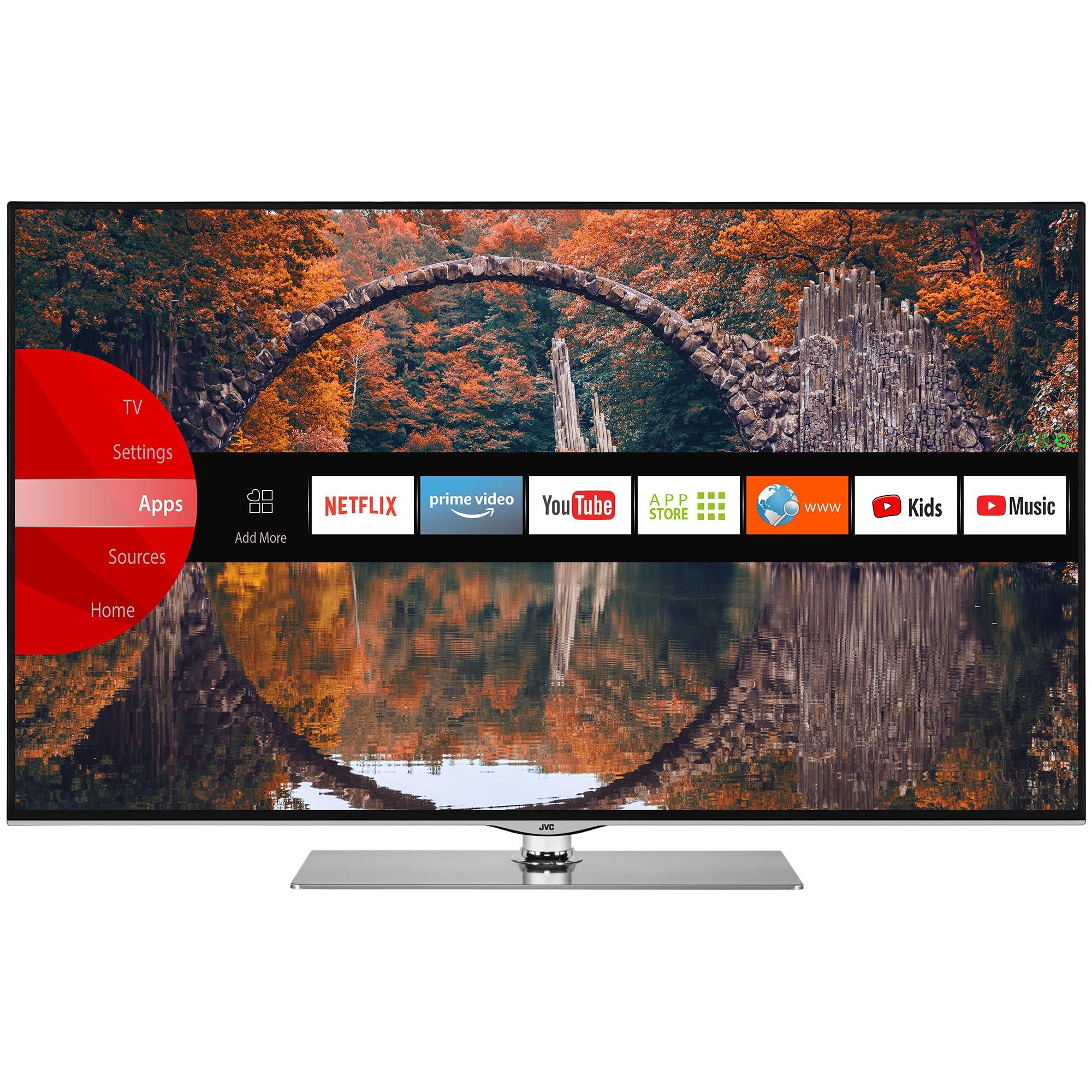 Fotografie Televizor JVC LT-43VU73M, 109 cm, Smart, 4K Ultra HD, LED, Clasa A+