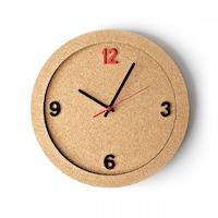 ECO-CORK корков стенен часовник 30см