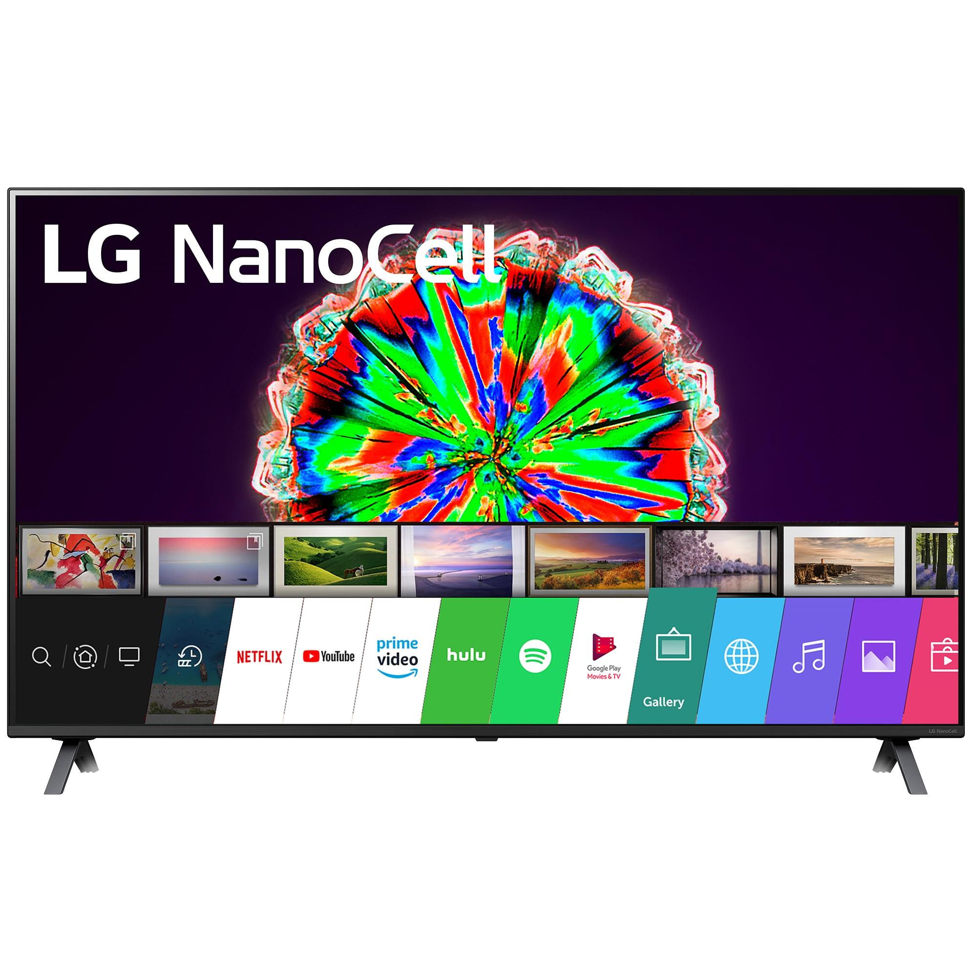 Fotografie Televizor LG 49NANO803NA, 123 cm, Smart, 4K Ultra HD, LED, Clasa A