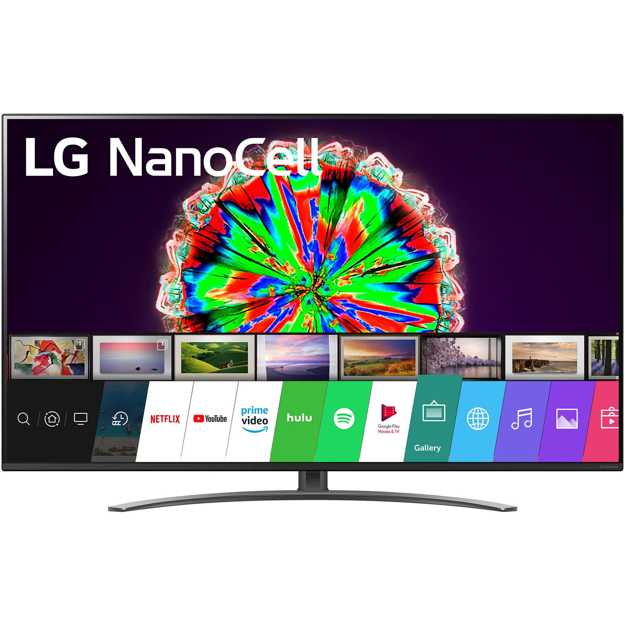 Fotografie Televizor LG 55NANO813NA, 139 cm, Smart, 4K Ultra HD, LED, Clasa G