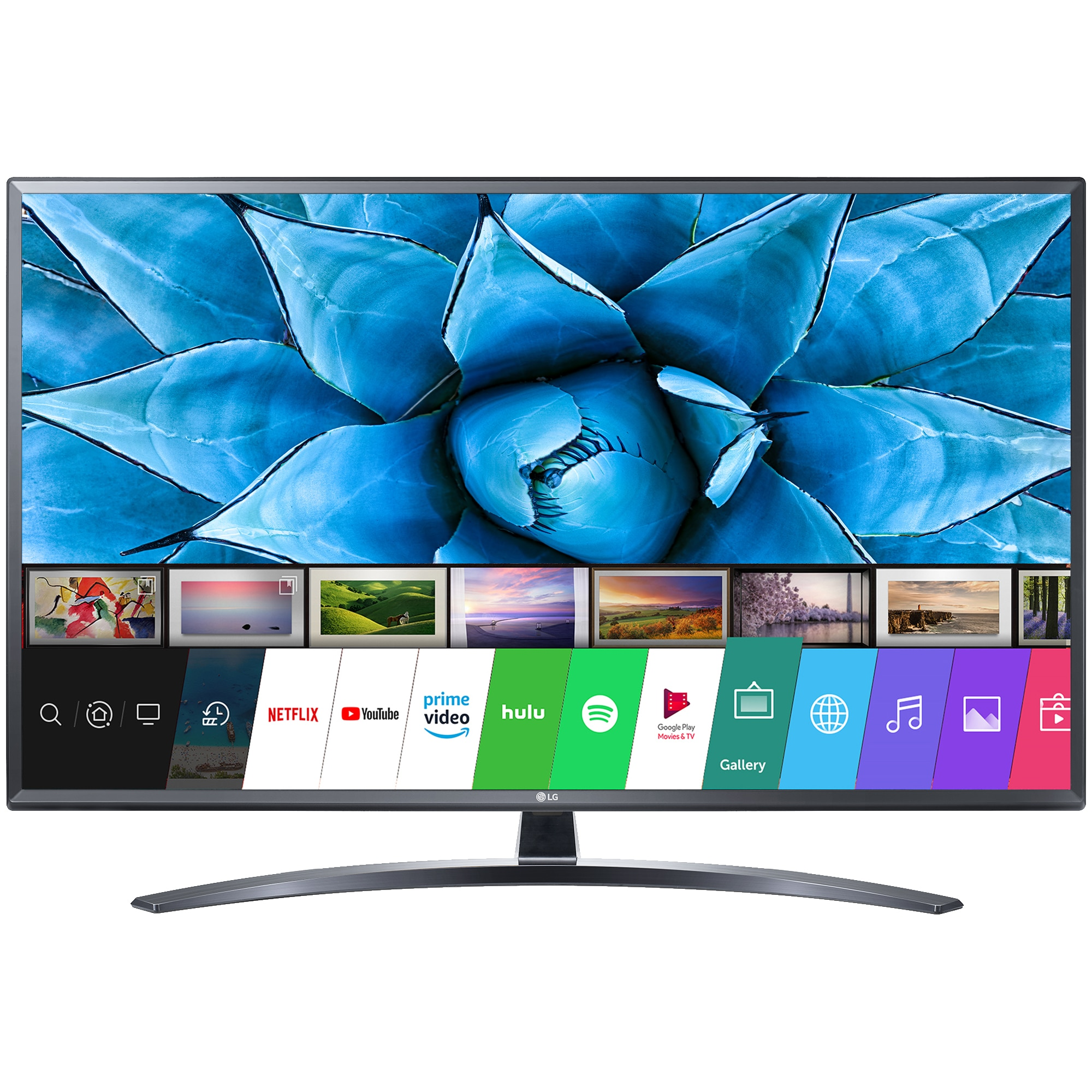 Fotografie Televizor LG 49UN74003LB, 123 cm, Smart, 4K Ultra HD, LED, Clasa F