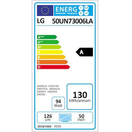 Televizor LG 65UN73003LA, 164 cm, Smart, 4K Ultra HD, LED, Clasa A