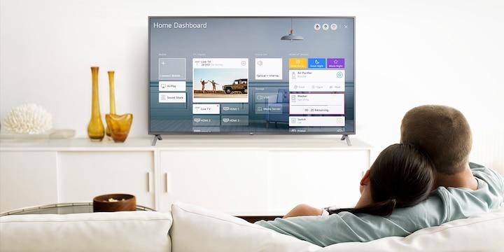 Телевизор LG 55UN74003LB