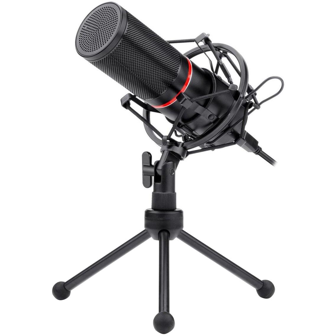 Fotografie Microfon Redragon Blazar, cu stand, Negru