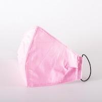 3 rétegű mosható textil maszk G3 szűrővel - Pink - M (női) méret