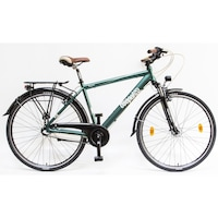 Csepel Signo N3 férfi trekking kerékpár - zöld - 19
