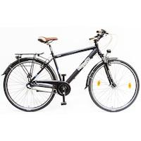 Csepel Signo N3 férfi trekking kerékpár - fekete - 21
