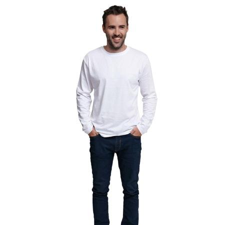 CAMBON hosszú ujjú trikó fehér XXXL