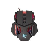 White Shark GM-9002 Lancelot 6400dpi fekete vezetékes optikai gamer egér