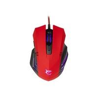White Shark GM-3006R Hannibal 2 3200 dpi piros vezetékes optikai gamer egér