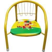 scaun galben si moale la copii