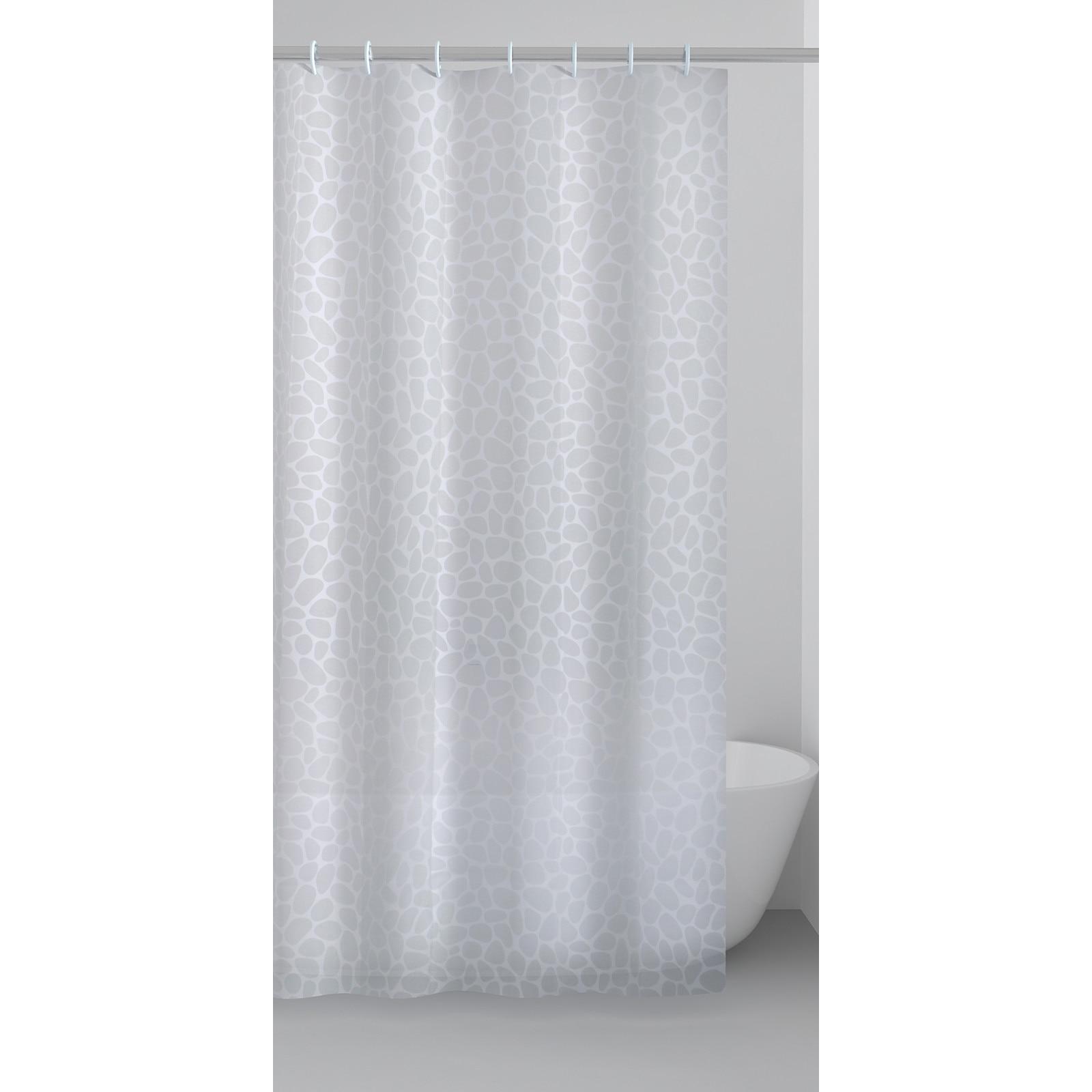 Zuhanyfüggöny, fehér, 180 x 180 cm | ElegansOtthon.hu