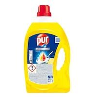 Detergent de Vase Lichid PUR Professional Lemon, 4.5 L, Parfum de Lamaie, Degresant pentru Bucatarie