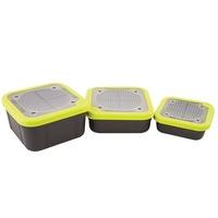 Кутия за стръв Matrix Bait Box Grey/Lime
