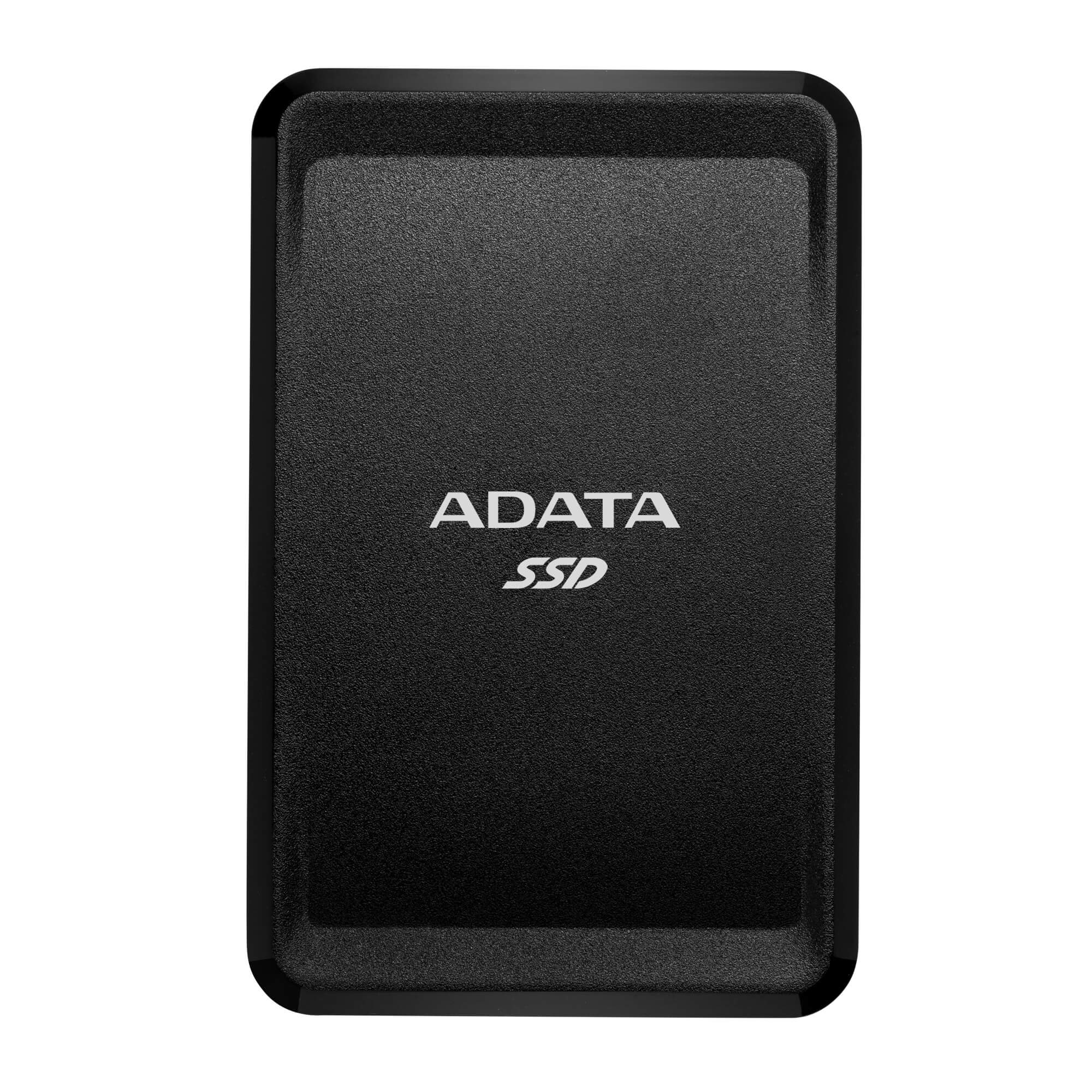 Fotografie SSD extern ADATA SC685, 2TB Type-C, multiplatform, cable Type-C to C, cable Type-C to A, Negru