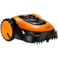 Косачка робот Villager Villybot 2.0, 18 V, Индукционен двигател, Li Ion батерия 2.5 Ah, 400 кв.м, Автономия 45 мин., Работна ширина 180 мм, Максимална височина на рязане 5 см
