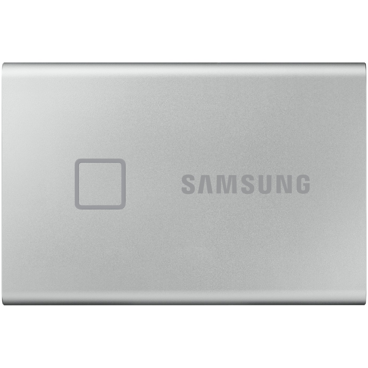 Fotografie SSD extern Samsung T7 Touch portabil, 1TB, USB 3.1, Argintiu