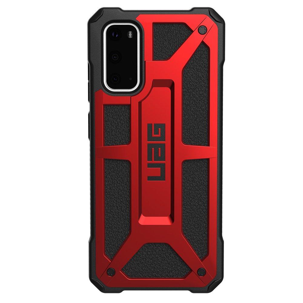 Fotografie Husa de protectie UAG Monarch Series pentru Samsung Galaxy S20, Crimson Red