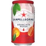 Suc de Portocale Rosii San Pellegrino Aranciata Rossa, 330 ml