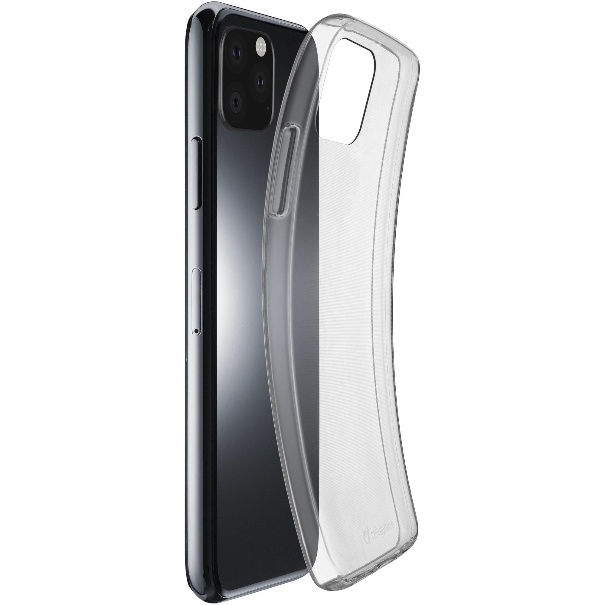 Fotografie Husa de protectie Cellularline Rubber Fine pentru iPhone 11 Pro Max, Transparenta