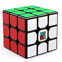 MoYu MoFang JiaoShi MF3RS 3x3x3 Rubik Kocka; Fekete