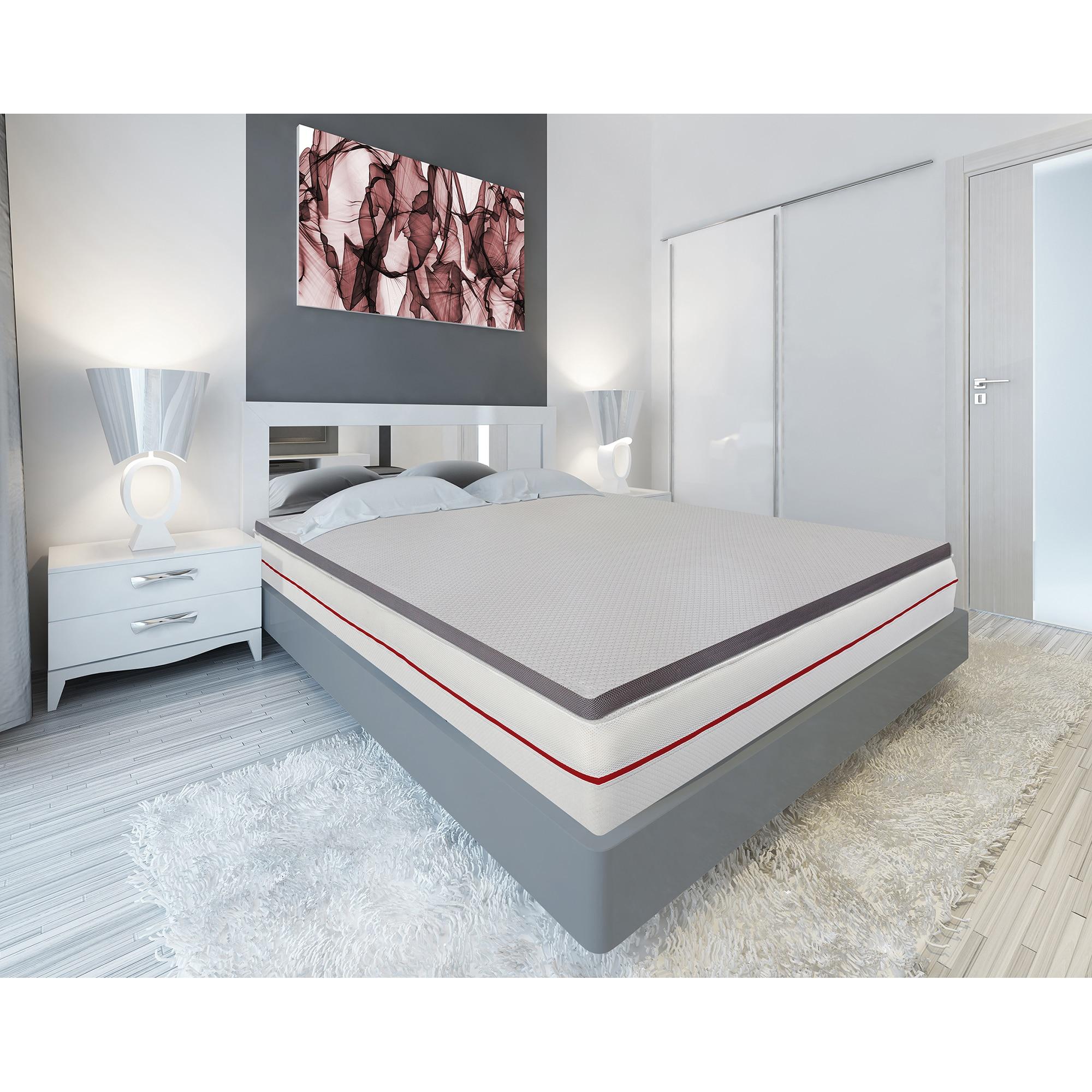 Fotografie Topper saltea Kring Luxury, H 8 cm spuma memory, 140x190 cm