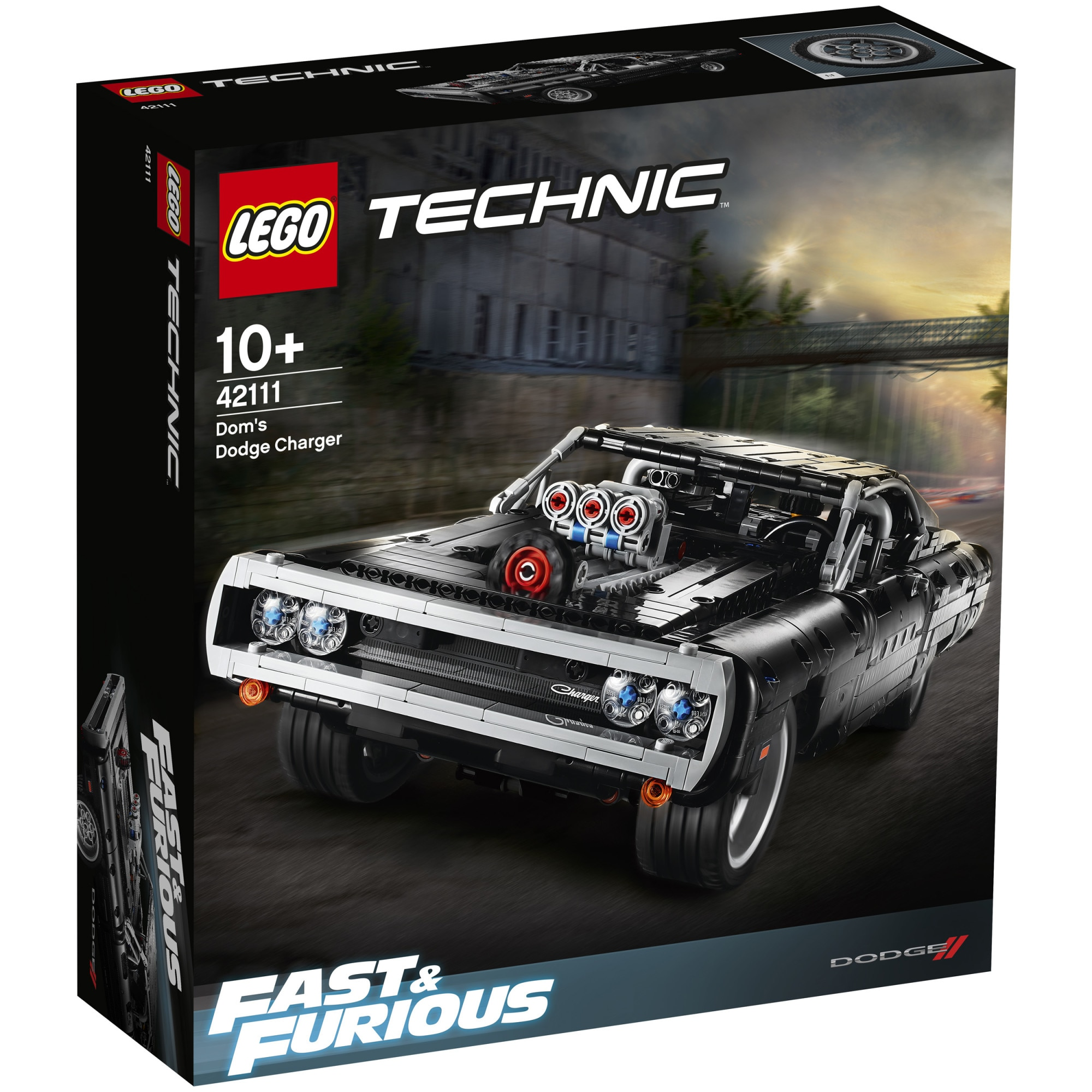 Fotografie LEGO Technic - Dom's Dodge Charger 42111, 1077 piese