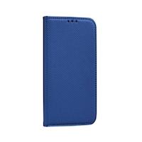 Magnet Samsung A715 Galaxy A71 mágneses flip tok, kék