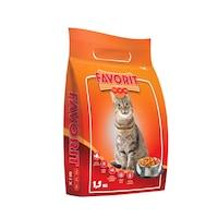 Favorit száraz macskaeledel, csirke, 1.5kg (2 db)