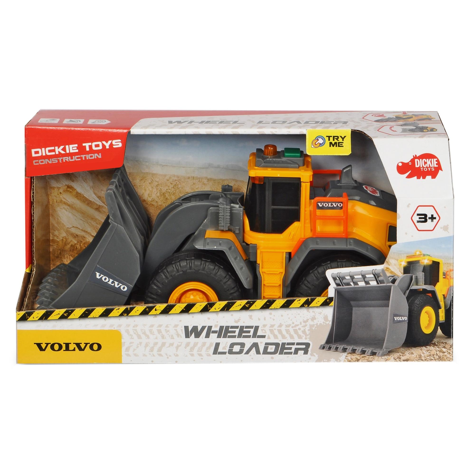 Fotografie Buldozer Dickie Toys, Volvo Wheel Loader, 23 cm
