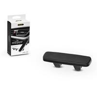 Univerzális szellőzőrácsba illeszthető mágneses PDA/GSM autós tartó - fekete