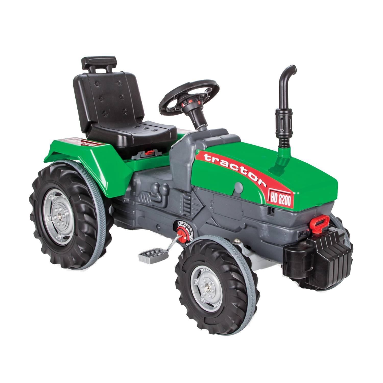 Fotografie Tractor cu pedale pentru copii Pilsan HD 8200, verde