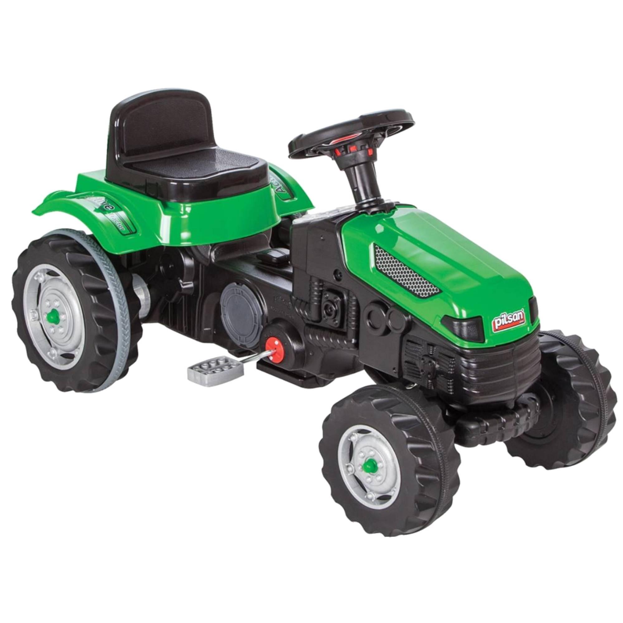 Fotografie Tractor cu pedale pentru copii Pilsan, verde
