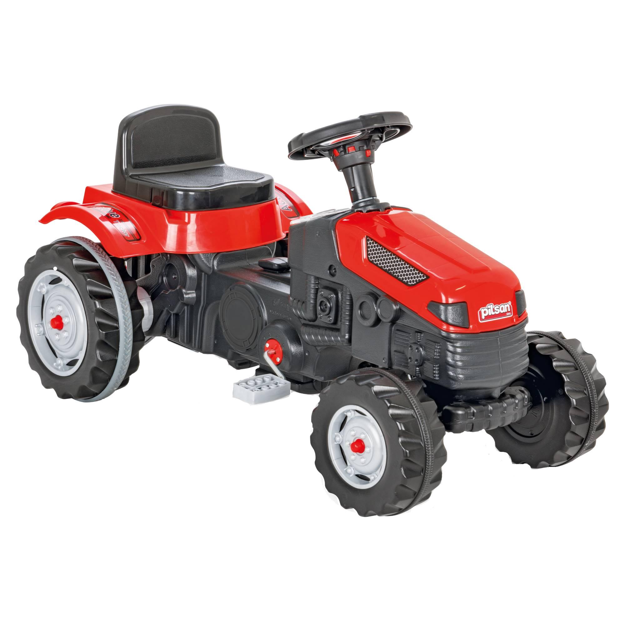 Fotografie Tractor Pilsan Active, cu pedale, rosu