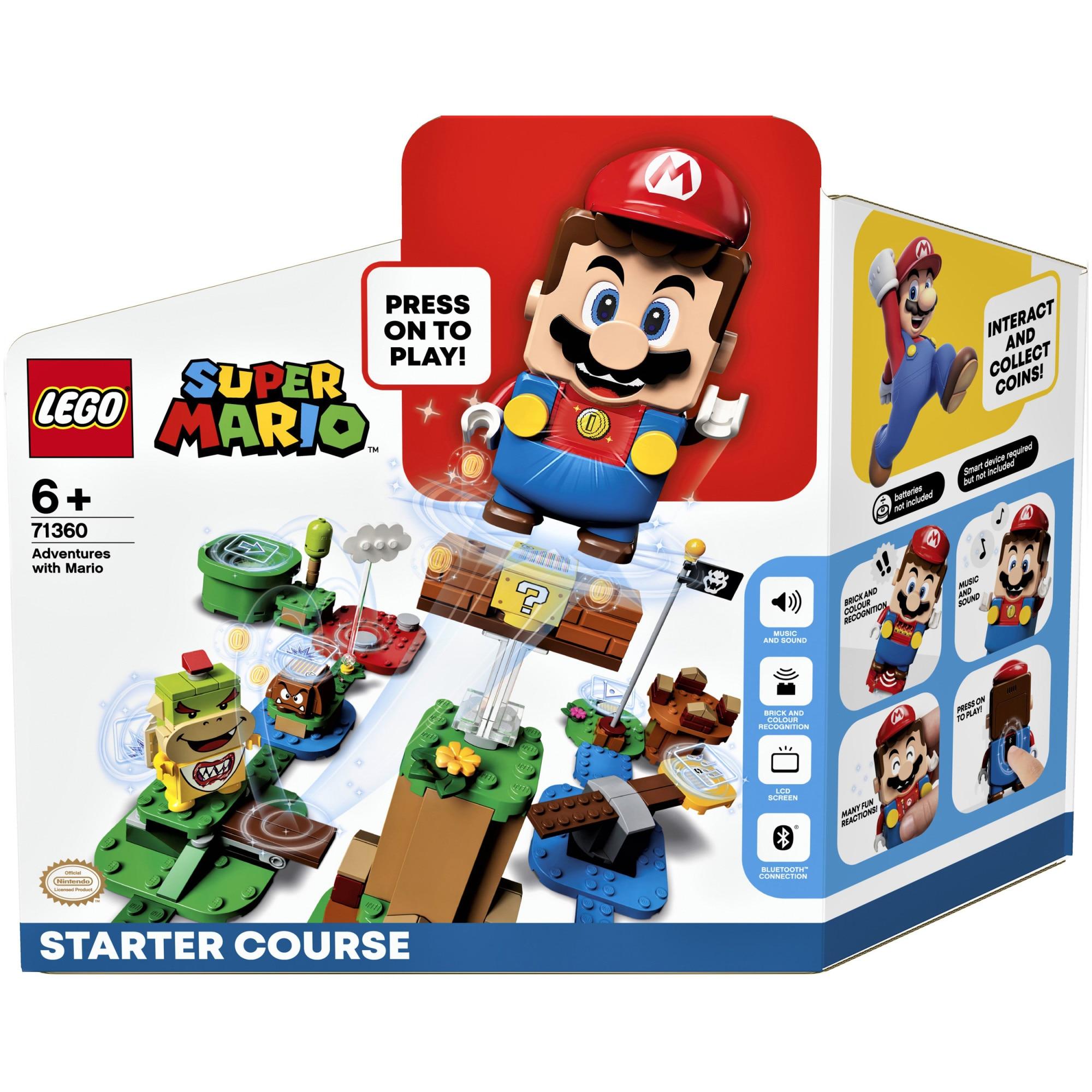 Fotografie LEGO Super Mario, Aventurile lui Mario - set de baza 71360