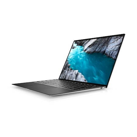 """Лаптоп Dell XPS 9300, Intel Core i7-1065G7 (8MBCache, up to 3.9 GHz), 13.4"""" FHD+ (1920 x 1200) AG 500-Nit Display, HD Cam, 16GB 3733MHz LPDDR4, 512GB M.2 PCIe NVMe SSD, Intel Iris Plus Graphics, Wi-Fi 6, BT 5.0, Backlit KBD, FPR, Win10 Pro, Silver"""