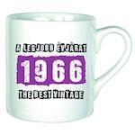 A legjobb évjárat – 1966 évszámos bögre