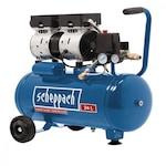 Scheppach HC 24 Si Csendes olajmentes kéthengeres kompresszor 24 literes, 8 bar