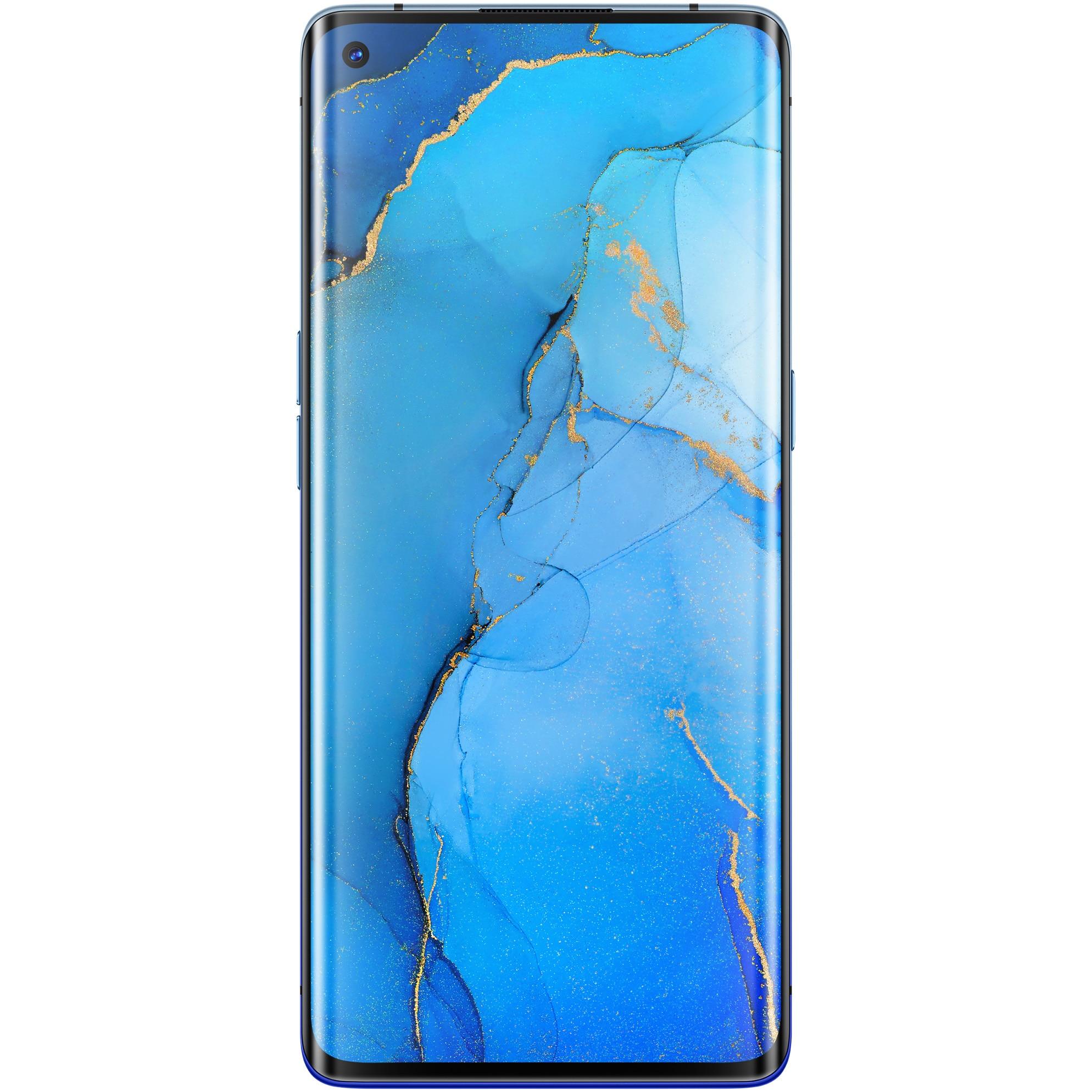 Fotografie Telefon mobil Oppo Reno 3 Pro, 256GB, 12GB RAM, 5G, Stary Blue