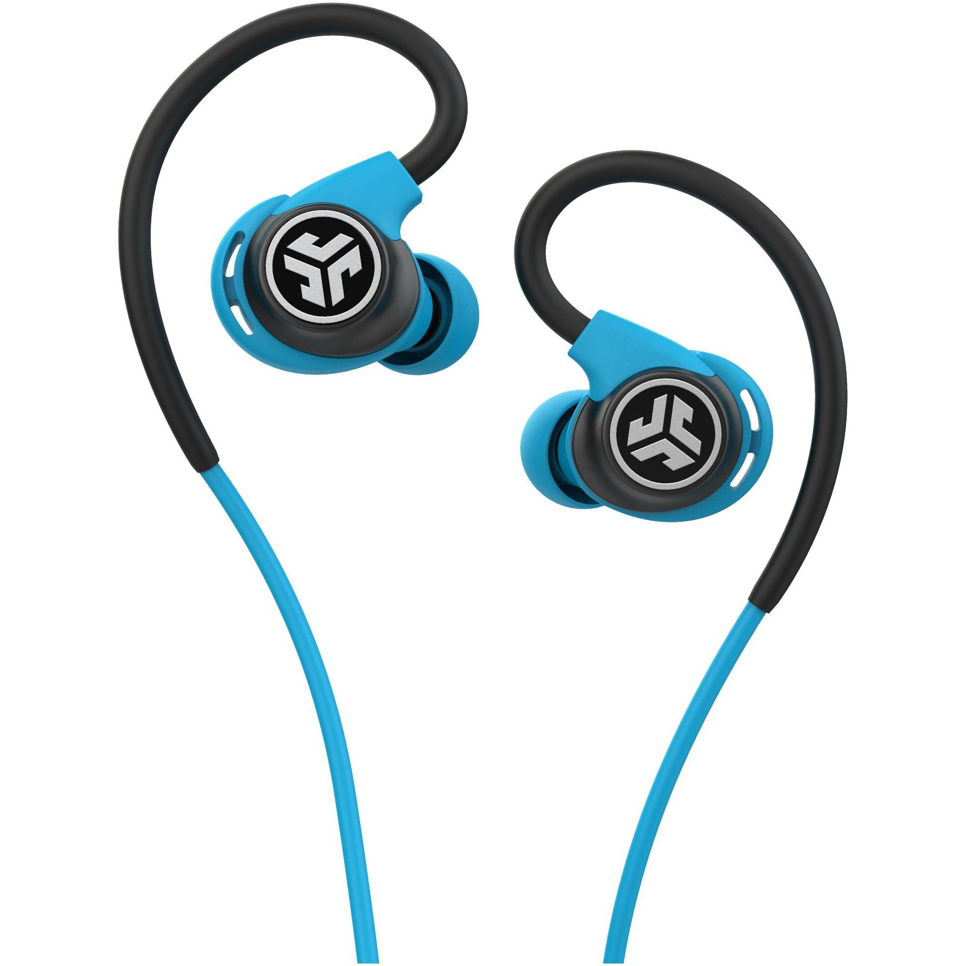 Fotografie Casti Audio Sport In Ear JLAB Fit Sport 3, Cu fir, Microfon, Albastru
