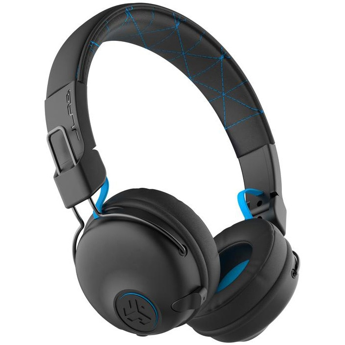 Fotografie Casti Audio On Ear pliabile JLAB Play Gaming, Wireless, Bluetooth, Microfon, Autonomie 22 ore, Negru